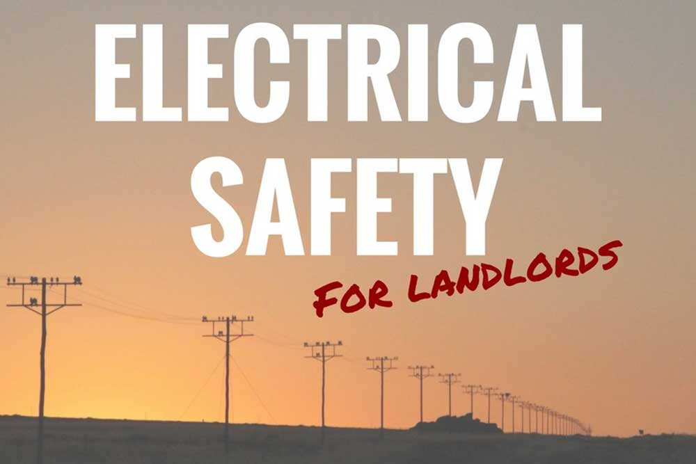 electrical safety for landlords graphic